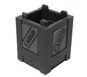 LEGO Container 2 x 2 x 2 Crate with Cargo (All Sides) Sticker (61780)
