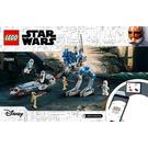 LEGO 501st Legion Clone Troopers Set 75280 Instructions