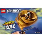 LEGO Airjitzu Cole Flyer Set 70741 Instructions