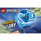 LEGO Airjitzu Jay Flyer Set 70740 Instructions