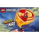LEGO Airjitzu Kai Flyer Set 70739 Instructions