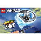 LEGO Airjitzu Zane Flyer Set 70742 Instructions