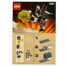 LEGO Allied Avenger Set 6887 Instructions