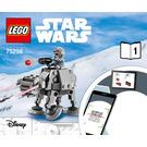 LEGO  AT-AT vs. Tauntaun Microfighters Set 75298 Instructions