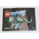 LEGO Baby Ankylosaurus Set 5950 Instructions