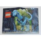 LEGO Baby Iguanodon Set 5951 Instructions