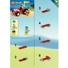 LEGO Baja Buggy Set 6518 Instructions