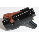 LEGO Mini Shooting Gun Assembly with Reddish Brown Trigger