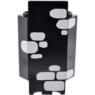 LEGO Panel Wall 3 x 3 x 6 Corner with Decoration with Bottom Indentations (2345)
