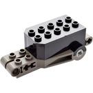 LEGO Pullback Motor 9 x 4 x 2 1/3 with Dark Gray Base