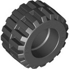 LEGO Tire 21mm D. x 12mm - Offset Tread Small Wide with Band Around Center of Tread (87697)