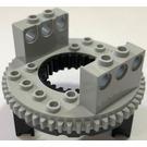 LEGO Turntable with Medium Stone Grey Top (2856)