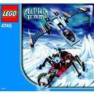 LEGO Blue Eagle vs. Snow Crawler Set 4745 Instructions