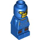 LEGO Blue Minotaurus Gladiator Microfigure