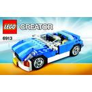 LEGO Blue Roadster Set 6913 Instructions