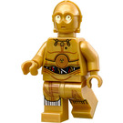 LEGO C-3PO Protocol Droid with Leg Wire Decoration Minifigure