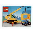LEGO Cargomaster Crane Set 6352 Instructions
