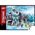 LEGO Castle of the Forsaken Emperor Set 70678 Instructions
