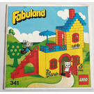 LEGO Catherine Cat's House and Mortimer Mouse Set 341-2 Instructions