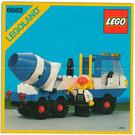 LEGO Cement Mixer Set 6682 Instructions