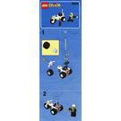 LEGO Chopper Cop Set 6324 Instructions