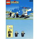 LEGO Chopper Cops Set 6664 Instructions
