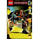LEGO Claw Crusher Set 8101 Instructions