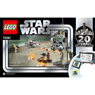 LEGO Clone Scout Walker – 20th Anniversary Edition Set 75261 Instructions