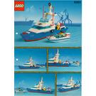 LEGO Coastal Cutter Set 6353 Instructions