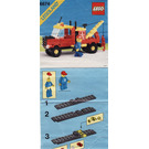 LEGO Crane Truck Set 6674 Instructions