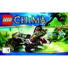 LEGO Crawley's Claw Ripper Set 70001 Instructions