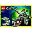 LEGO Crocodile Legend Beast Set 70126 Instructions