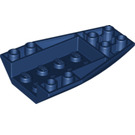 LEGO Dark Blue Wedge 6 x 4 Triple Curved Inverted (43713)