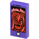 LEGO Tile 1 x 2 with Cell Phone with Groove (3069 / 56275)