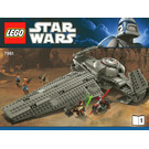 LEGO Darth Maul's Sith Infiltrator Set 7961 Instructions
