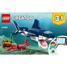 LEGO Deep Sea Creatures Set 31088 Instructions