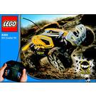 LEGO Dirt Crusher RC Set (Yellow) 8369-1 Instructions