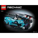 LEGO Drag Racer Set 42050 Instructions
