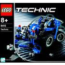 LEGO Dump Truck Set 8415 Instructions