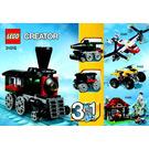 LEGO Emerald Express Set 31015 Instructions
