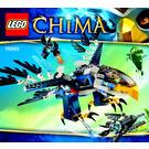LEGO Eris' Eagle Interceptor Set 70003 Instructions