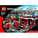 LEGO Ferrari Finish Line Set 8672 Instructions