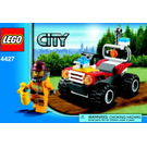 LEGO Fire ATV Set 4427 Instructions