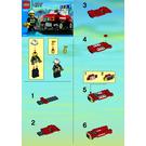 LEGO Fire Car Set 7241 Instructions
