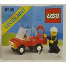 LEGO Fire Chief's Car Set 6505 Instructions