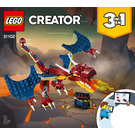 LEGO Fire Dragon Set 31102 Instructions
