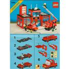 LEGO Fire House-I Set 6385 Instructions