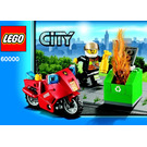 LEGO Fire Motorcycle Set 60000 Instructions