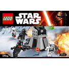 LEGO First Order Battle Pack Set 75132 Instructions