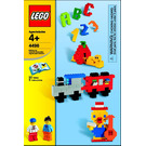 LEGO Fun With Building Set (Boxed) 4496-1 Instructions